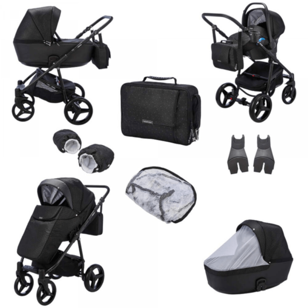 Mee-go Santino Special Edition 3-in-1 Travel System - Galaxy